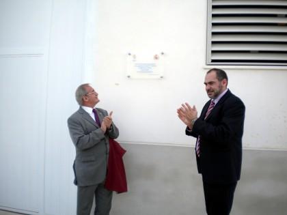 El subdelegado del Gobierno y el alcalde inauguran el vivero de Empresas de Herencia