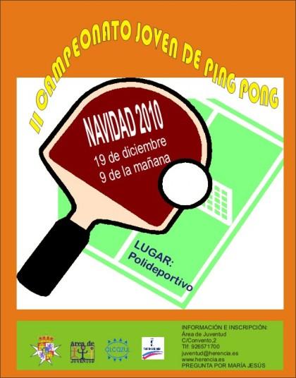 campeonato joven ping pong