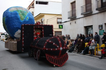 carroza carnaval los imposibles