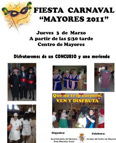 fiesta carnaval mayores 2011