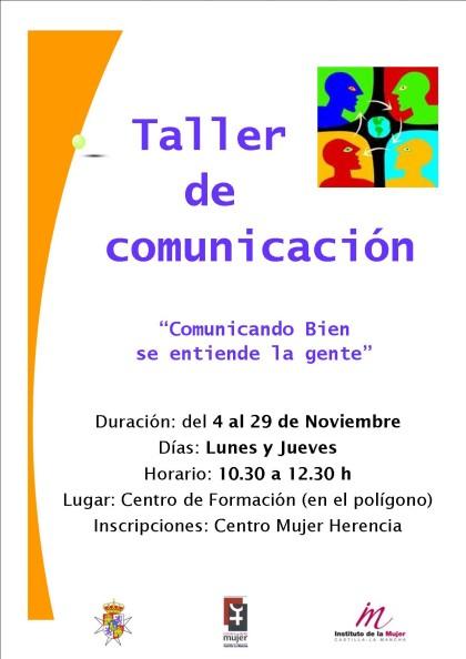 taller comunicacion en herencia