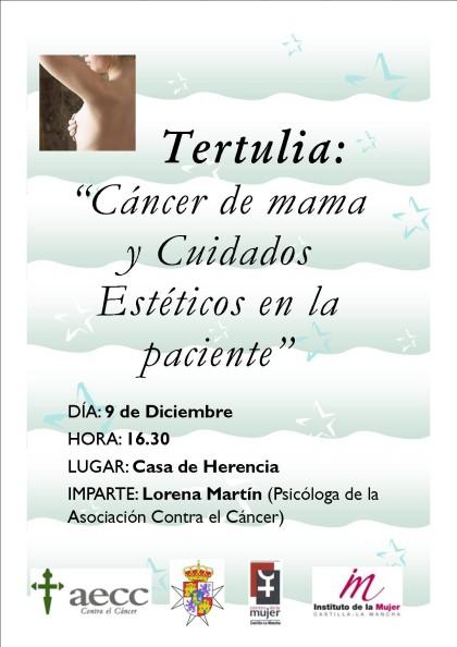 tertulia sobre cancer de mama
