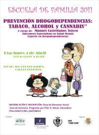Prevención drogodependencias: tabaco, alcohol y cannabis