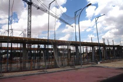 obras de construccion nuevo colegio de herenciaconstruccion