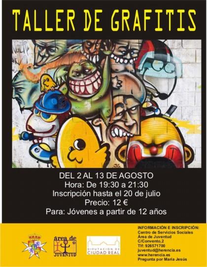 taller de grafitis