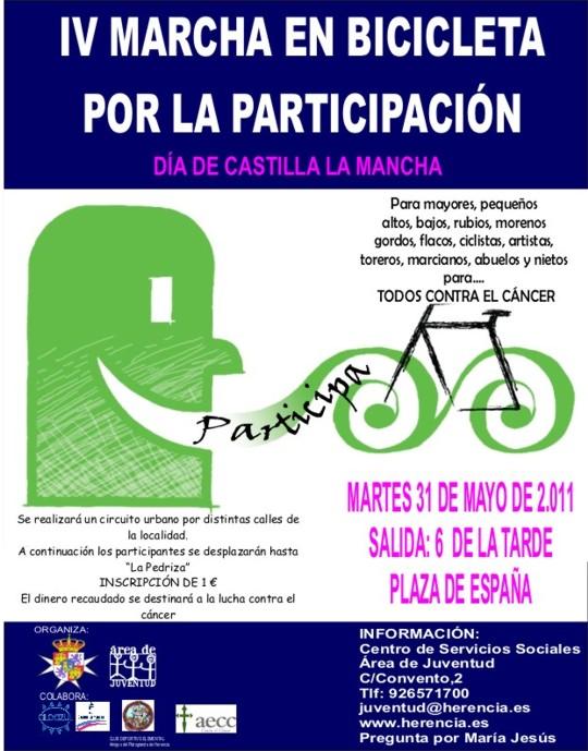 IV Marcha en biciclta por la participacion