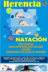 cartel natacion 2011