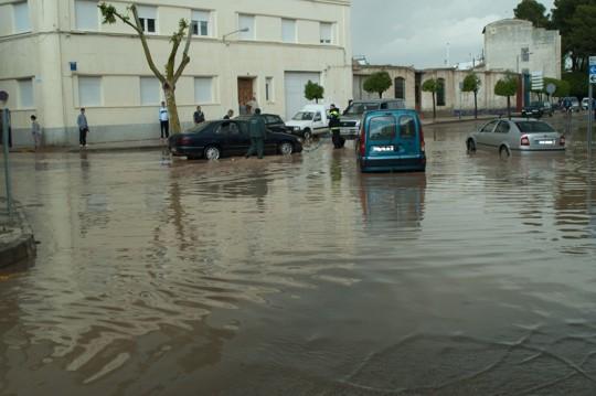 herencia agua efectivos achican Foto. David Carrero