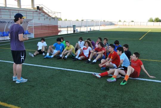 Escuela cadete de futbol Herencia