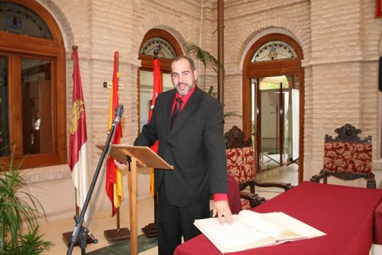 Herencia alcalde toma posesion