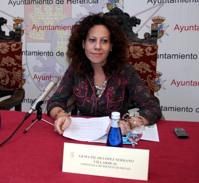 La concejala de Bienestar Social, Gema Pilar López