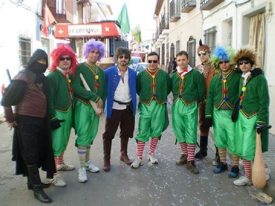 El Güendi durante el Carnaval de Herencia