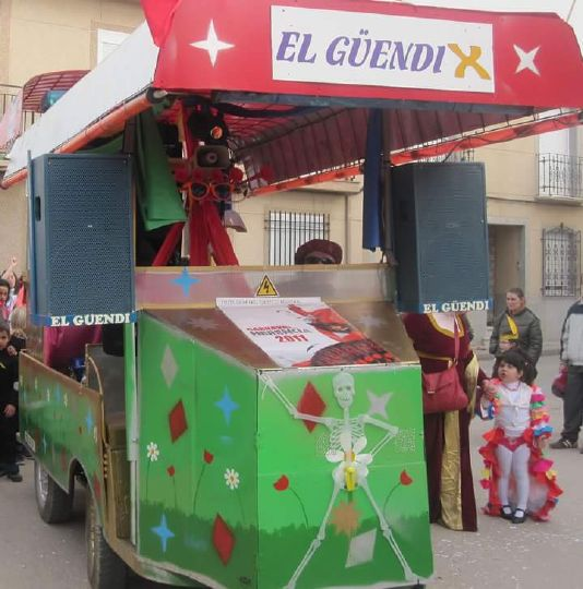 Perlé Jesús Carnavales Agrupación El Güendi